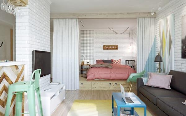 Stanze da letto da sogno per piccoli spazi