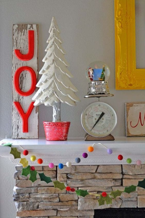 Decorazioni Natale 2018 in stile eclettico