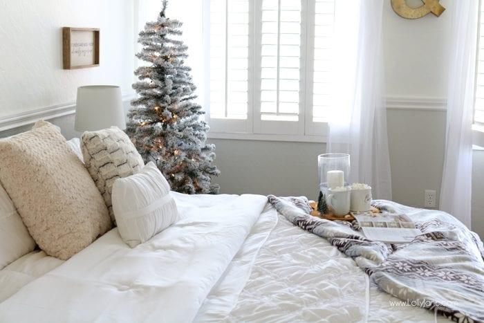 Design camera da letto e resstyling natalizio