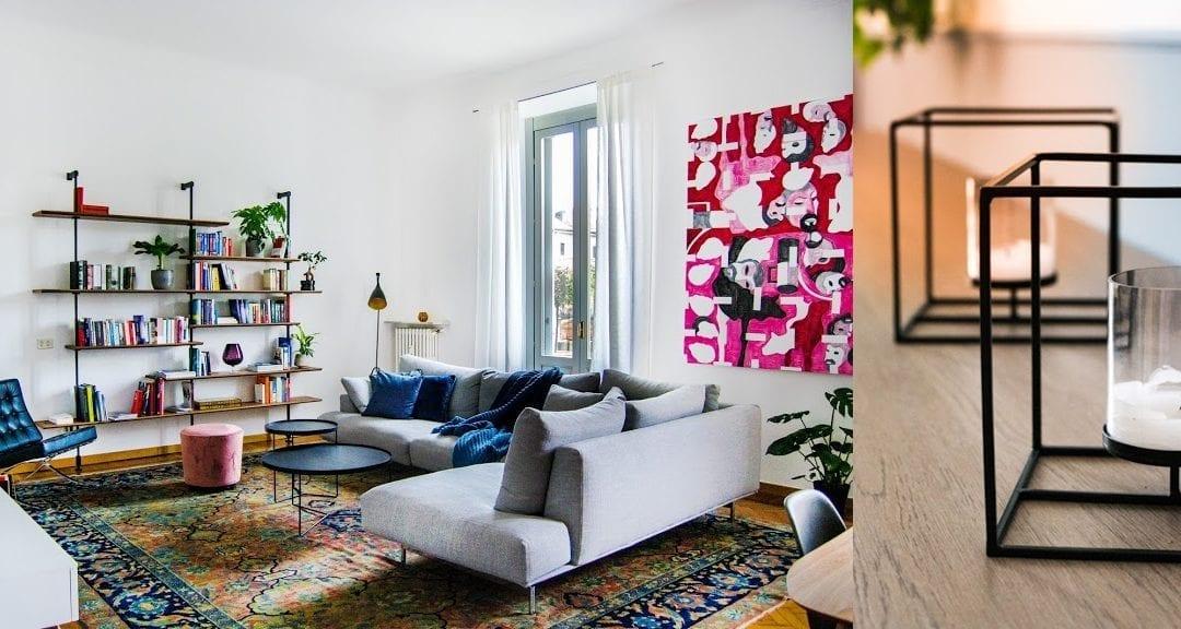 Camere da sogno: design nordico e colori mediterranei da Kia e Riccardo