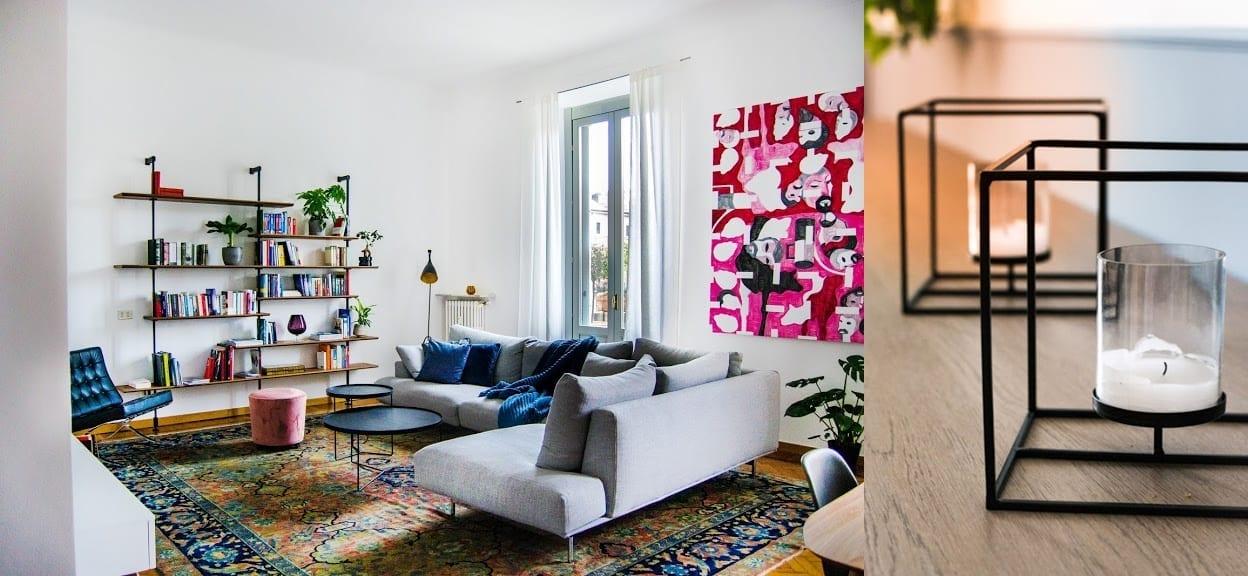 Camere da sogno firmate Biancorosso: il soggiorno di Kia e Riccardo
