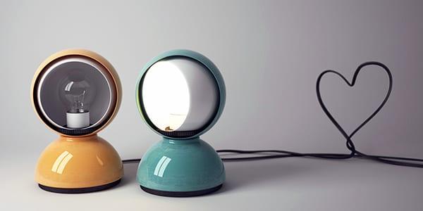 L'illuminazione di design del modernariato italiano