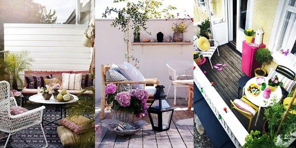 Tante idee per arredare il terrazzo in modo creativo