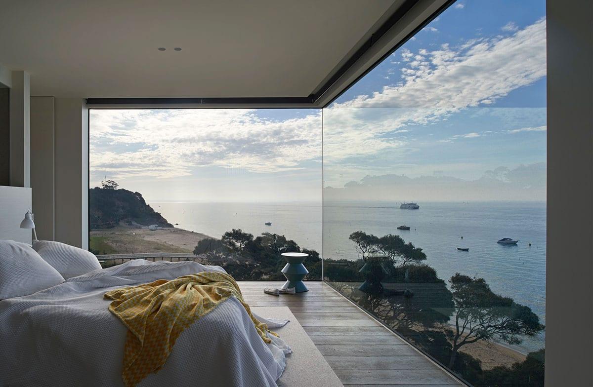 Stanze da letto da sogno con vista