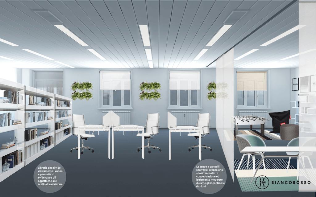Ufficio Di Design : Lufficio di giulia biancorosso
