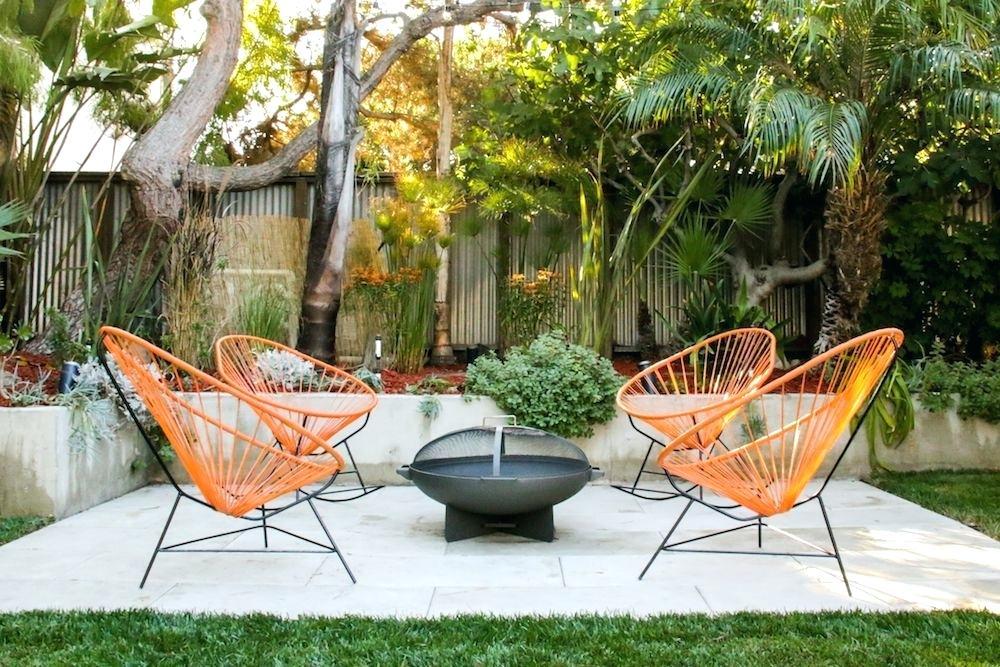 Le 50ies vibes protagoniste del design per patio stile mid-century
