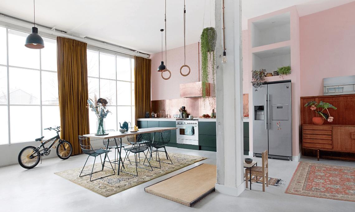 Il mix dei metalli è tra i trend dell'interior design per il 2020