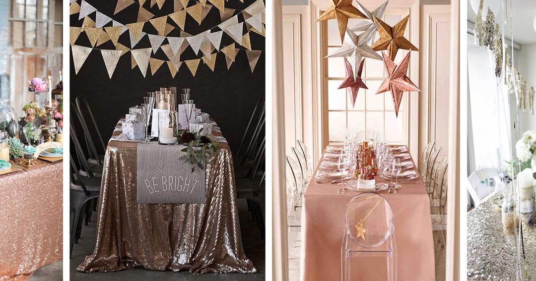 La tavola di Capodanno: come stupire gli ospiti con uno styling di grande effetto