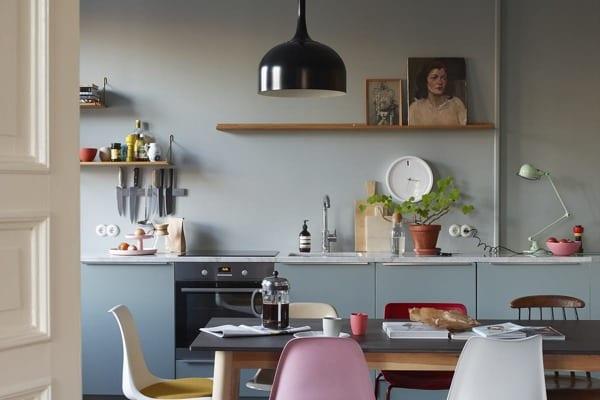 Tra le cucine moderne 2019 vincono i colori pastello