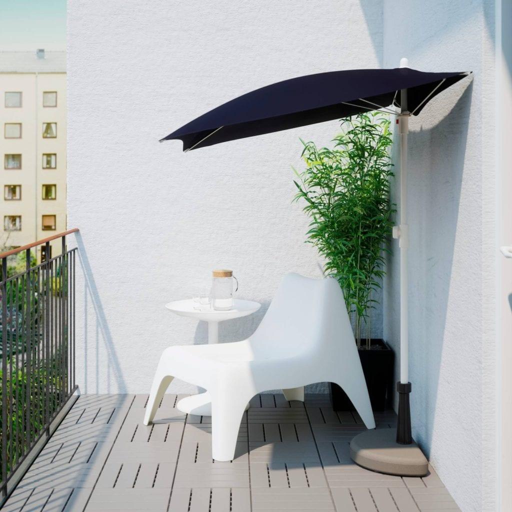 Come arredare il giardino con ombrelloni di design