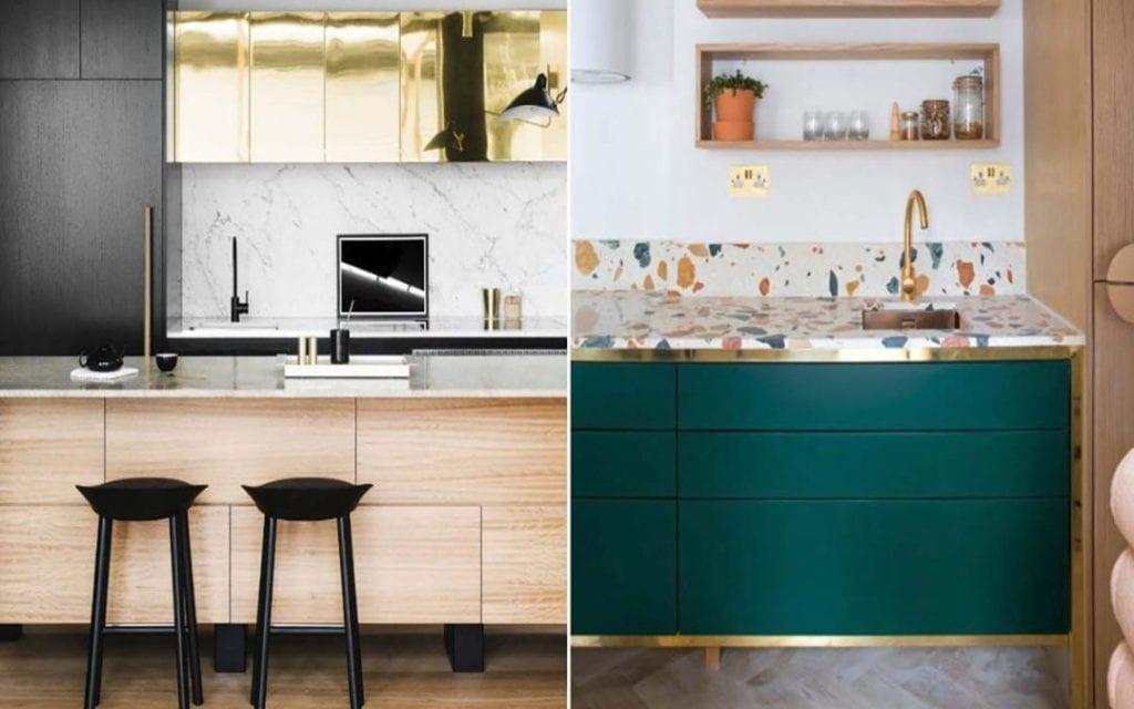 Design cucine 2019 e mix di materiali