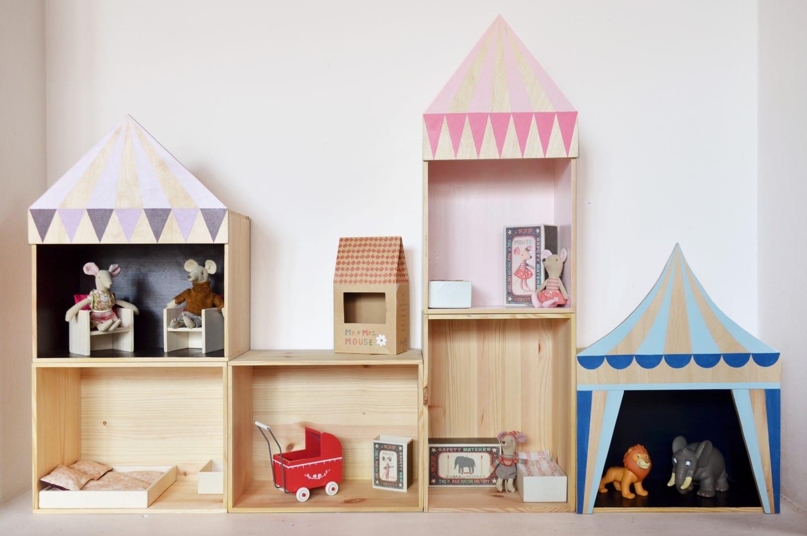 Camerette Montessori e teatrino