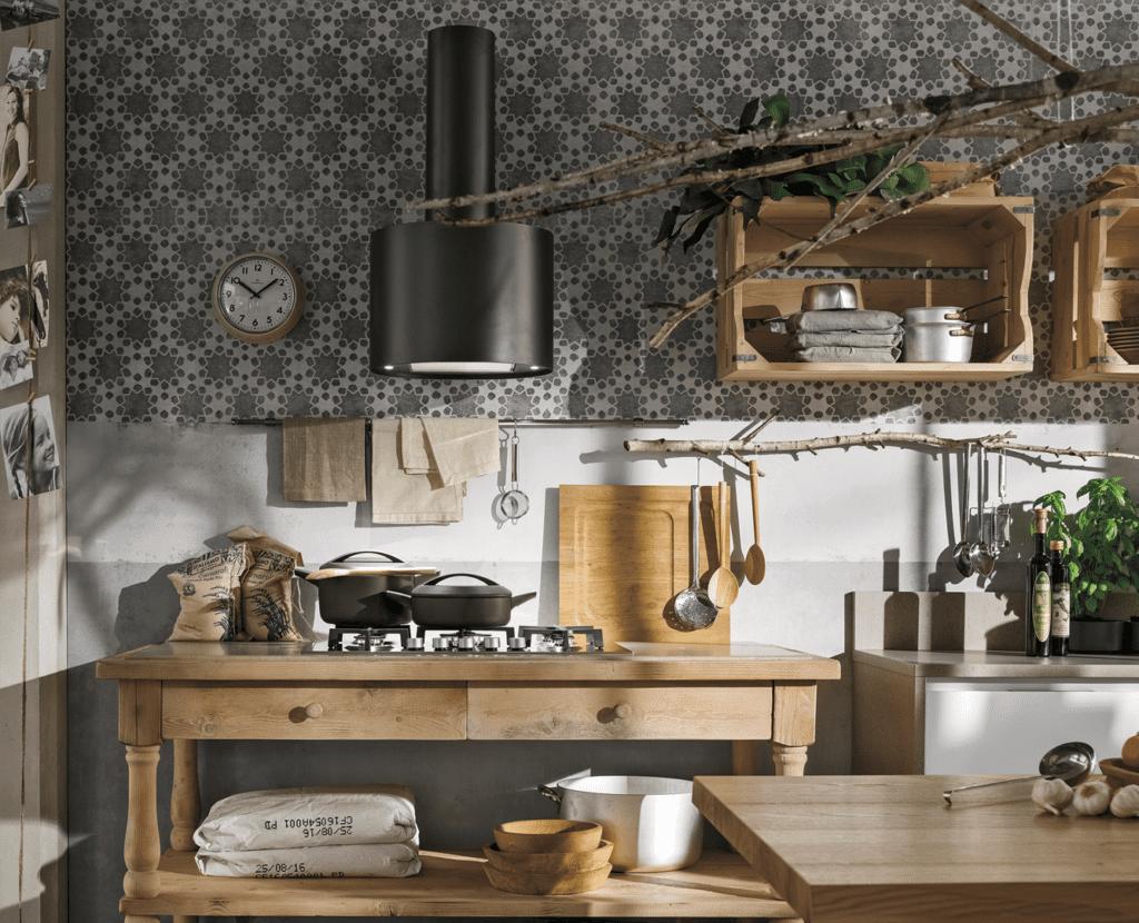 Design Cucine 2019 tra coiìuntry e moderno