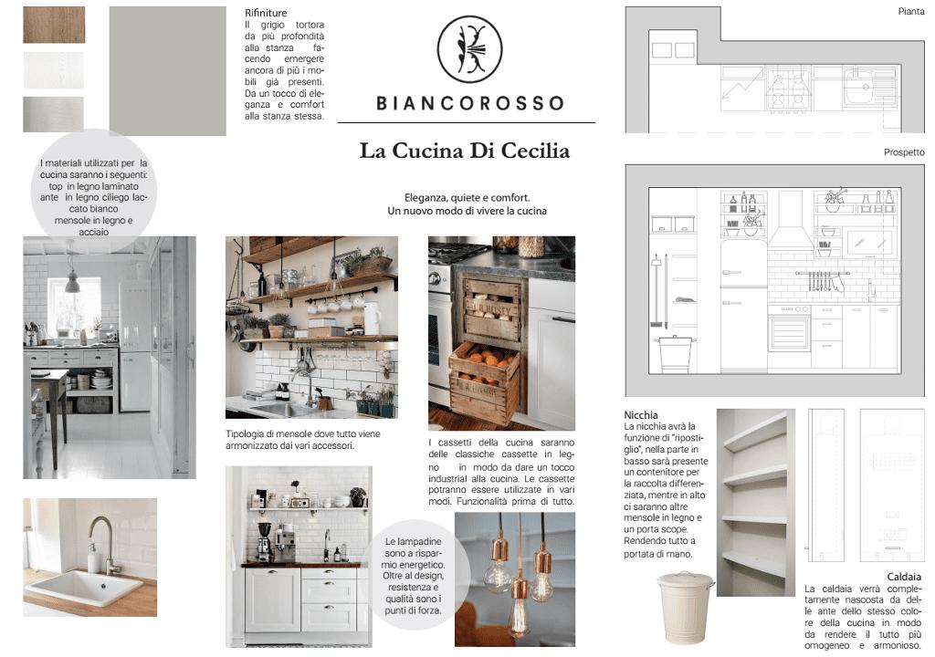 La cucina di Cecilia - Biancorosso
