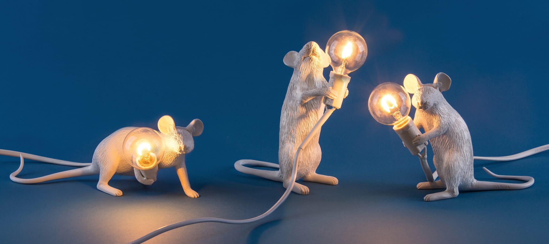 Illuminazione di design in forma d'animale con la Muse Lamp di Seletti