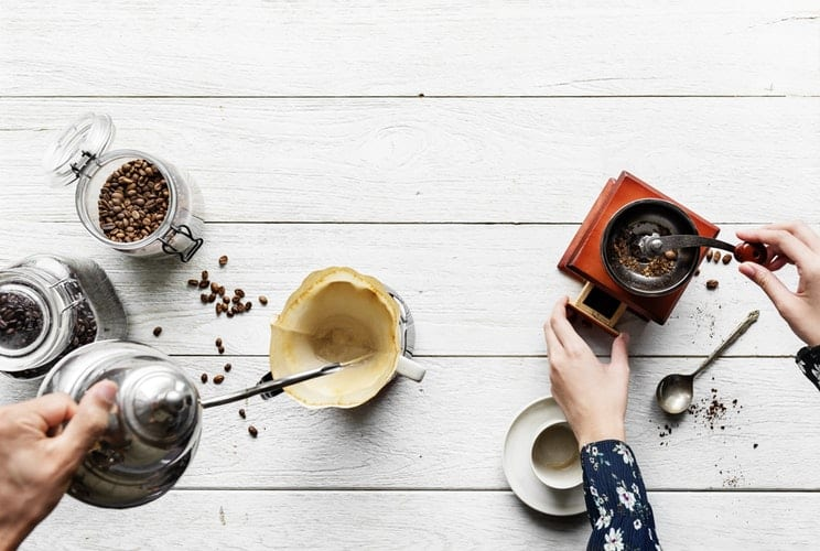 Come arredare la casa in autunno con una coffee&tea station
