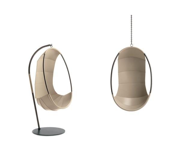 La Swing Chair disegnata per Ivano Redaelli imita le forme della natura