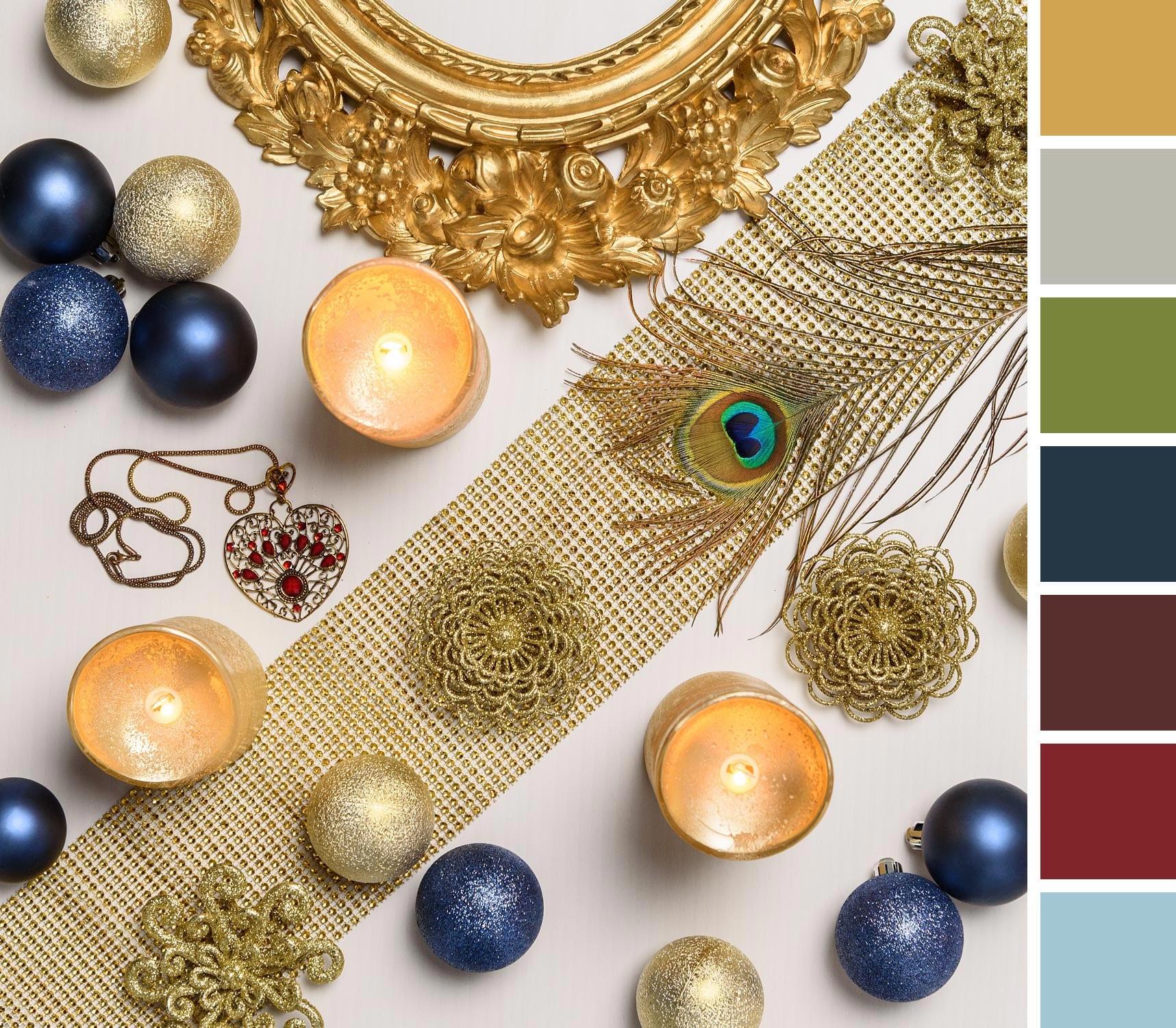 Stile Barocco per le decorazioni di Natale 2018
