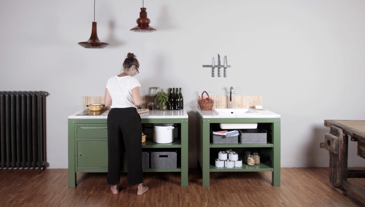 Cucine moderne diamo il benvenuto al minimalismo dal cuore